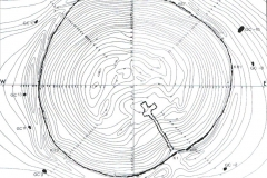 Contour Map of Tomb
