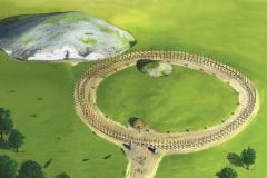 Woodhenge Illustration