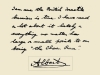 Letter from future George VI