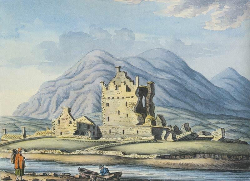 Cahergal And Leacanabuaile Forts Ballycarbery Castle