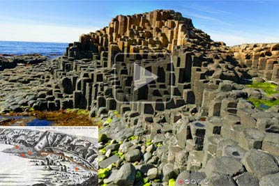 VR of Giant's Causeway