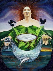 the goddess Anu