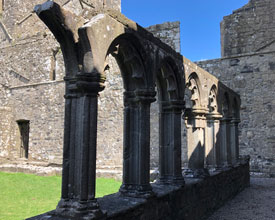 Cloisters of Fore Abbey