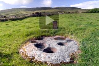 VR of Kilmalkedar Keelers Stone