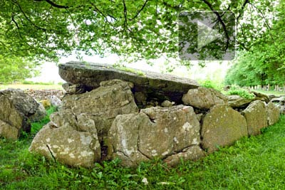VR of Labbacallee Wedge Tomb
