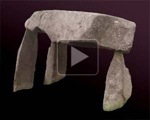 VR object of Legananny Dolmen