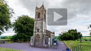 VR of the churchyard