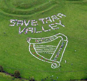Save Tara Valley protest